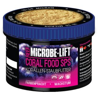Microbe-Lift Coral Food SPS- Korallenfutter Staubfutter kleinpolypige SPS 150ml