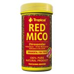 Tropical Red Mico Fischfutter Trockenfutter Blood Worms...