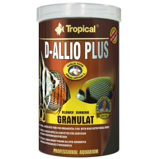 Tropical D-Allio Plus Granulat Fischfutter mit Knoblauch 100ml
