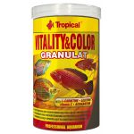 Tropical Vitality Color Fischfutter Granualt...