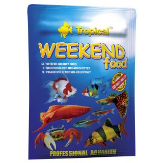 Tropical WEEKEND FOOD sinkende Futtertabletten für Zierfische 24 St.
