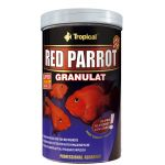 Tropical Red Parrot Papageienbuntbarsch Zierfischfutter...