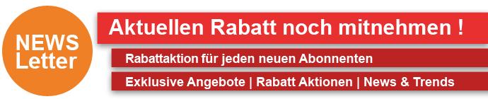 Newsletter Rabatt